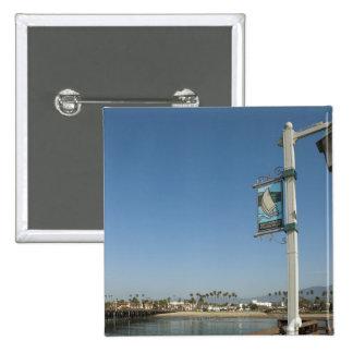 Santa Barbara, California 2 15 Cm Square Badge