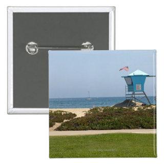 Santa Barbara, California 3 15 Cm Square Badge