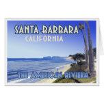 Santa Barbara California Butterfly Beach Souvenir Greeting Card