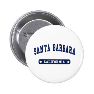 Santa Barbara California College Style tee shirts Buttons