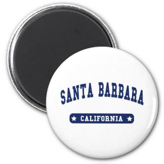 Santa Barbara California College Style tee shirts Refrigerator Magnets
