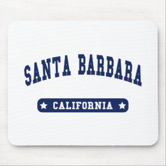 Santa Barbara California College Style tee shirts Mouse Pad