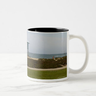 Santa Barbara, California Two-Tone Coffee Mug