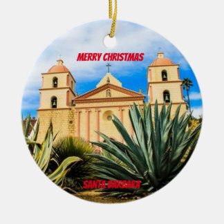 Santa Barbara (Caliornia) Scenic Ornament