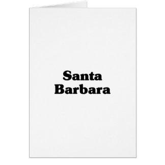 Santa Barbara Classic t shirts Cards