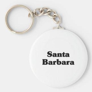 Santa Barbara  Classic t shirts Key Chain