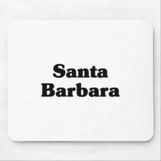 Santa Barbara  Classic t shirts Mouse Pad