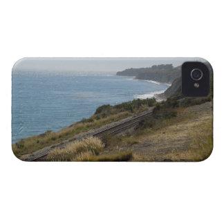 Santa Barbara Coastline with Railroad Tracks iPhone 4 Cases