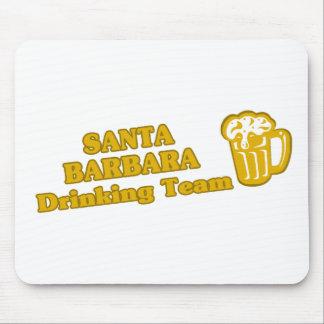 Santa Barbara Drinking Team tee shirts Mouse Pad