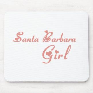Santa Barbara Girl tee shirts Mouse Pad
