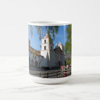Santa Barbara Mission, California Basic White Mug