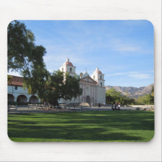 Santa Barbara Mission, California Mousepad