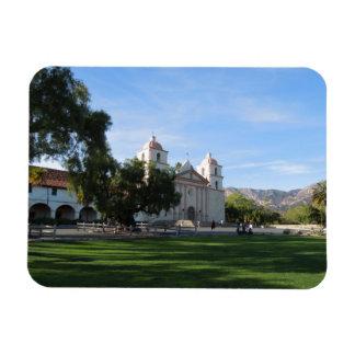 Santa Barbara Mission, California Flexible Magnet