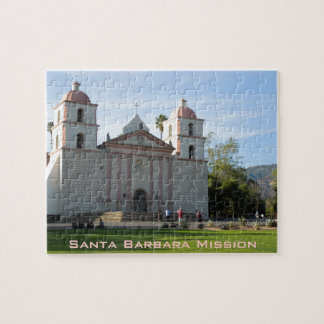 Santa Barbara Mission, California Jigsaw Puzzle