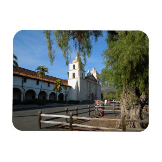 Santa Barbara Mission, California Rectangular Photo Magnet