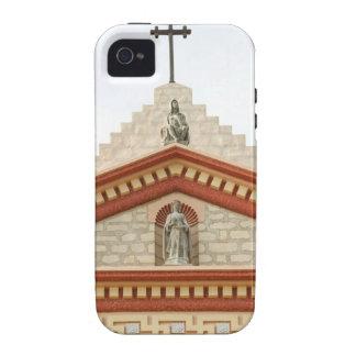 Santa Barbara Mission Cross Vibe iPhone 4 Case