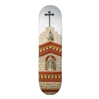 Santa Barbara Mission Cross Custom Skate Board