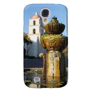 Santa Barbara Mission Fountain Galaxy S4 Covers