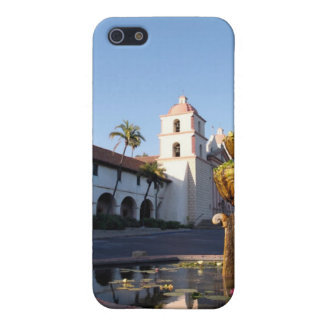 Santa Barbara Mission Fountain Cases For iPhone 5