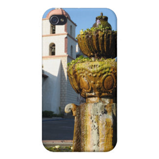 Santa Barbara Mission Fountain iPhone 4/4S Case
