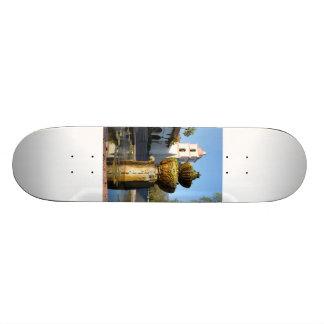 Santa Barbara Mission Fountain Skate Boards