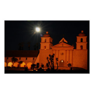 Santa Barbara Mission Posters