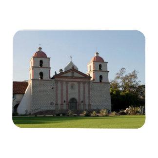 Santa Barbara Mission Flexible Magnets