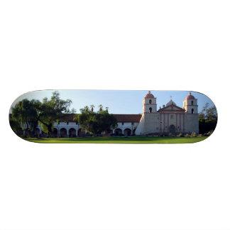 Santa Barbara Mission Custom Skateboard