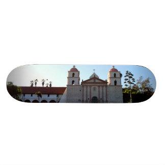Santa Barbara Mission Skate Board