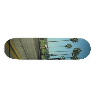 Santa Barbara Palmtrees Road Skate Deck