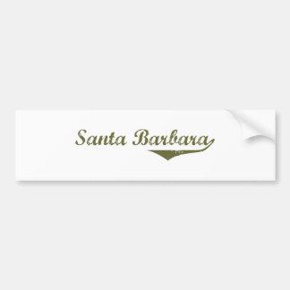 Santa Barbara  Revolution t shirts Car Bumper Sticker