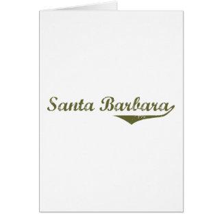 Santa Barbara Revolution t shirts Greeting Cards
