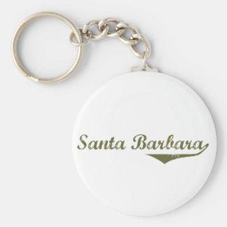 Santa Barbara  Revolution t shirts Keychain