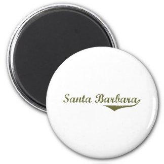 Santa Barbara Revolution t shirts Fridge Magnets
