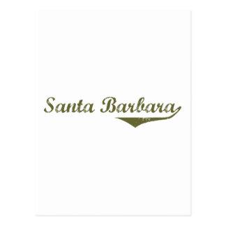 Santa Barbara  Revolution t shirts Postcard