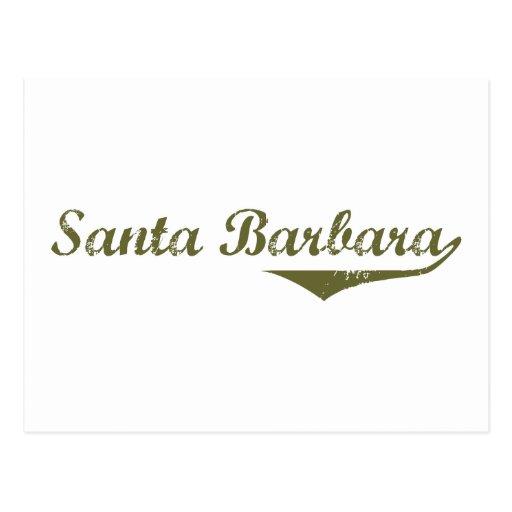 Santa Barbara  Revolution t shirts Post Cards