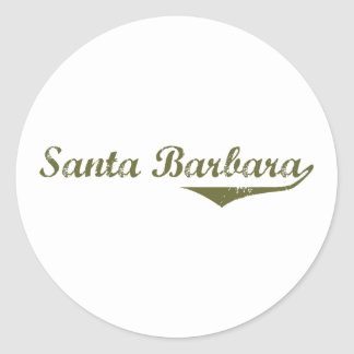 Santa Barbara  Revolution t shirts Sticker