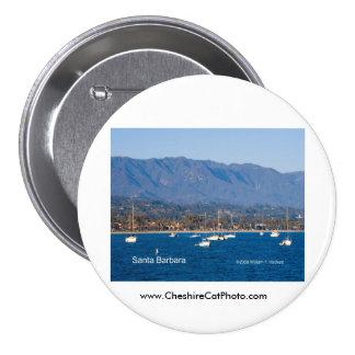 Santa Barbara Sailboats Products, California 7.5 Cm Round Badge