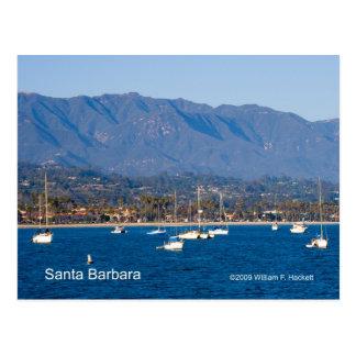 Santa Barbara Sailboats Products, California Postcard
