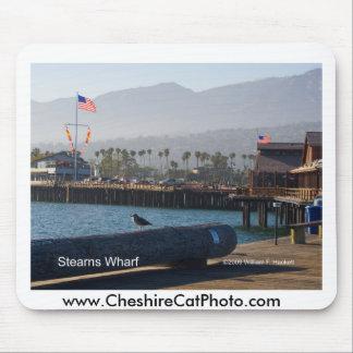 Santa Barbara Stearns Wharf Products Mousepads