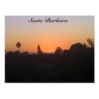 Santa Barbara Sunset Post Cards