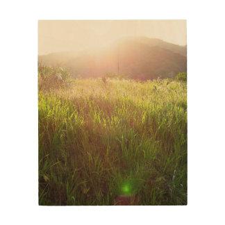 Santa Barbara Sunset Woodblock Print
