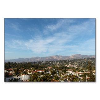 Santa Barbara Table Cards