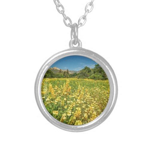 Santa Barbara Wildflowers Pendant