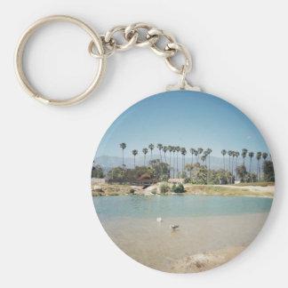 Santa Barbara's Beach Key Ring