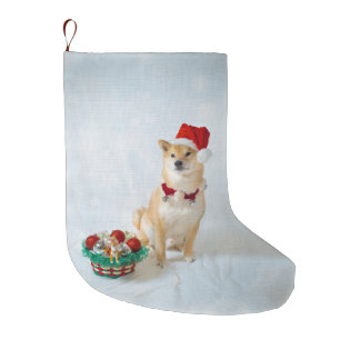 Santa Barkley Christmas Stocking
