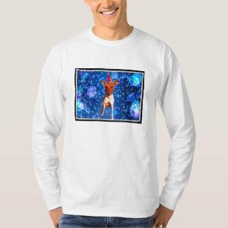Santa Basenji Tshirt