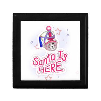 SANTA BEAR CHRISTMAS GIFT BOX