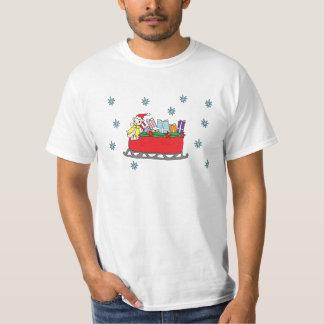 Santa Bear Happy Holidays T-Shirt