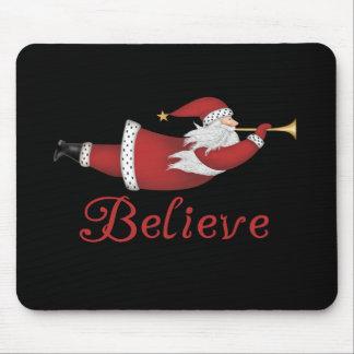 Santa Believe Mouse Mat